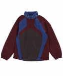 Track Jacket Burgundy/Blue