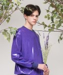[UNISEX] Lucky fruit 맨투맨 (Violet)