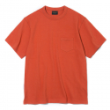 유니폼브릿지(UNIFORM BRIDGE) 17ss 10s heavyweight pocket tee G orange