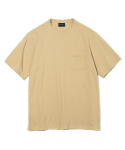 유니폼브릿지(UNIFORM BRIDGE) 17ss 10s heavyweight pocket tee beige