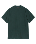 유니폼브릿지(UNIFORM BRIDGE) 17ss 10s heavyweight pocket tee forest