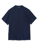 유니폼브릿지() 10s heavyweight watch pocket tee navy