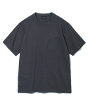 유니폼브릿지(UNIFORM BRIDGE) 10s heavyweight watch pocket tee charcoal