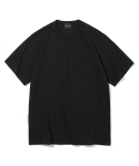 유니폼브릿지() 10s heavyweight v neck watch pocket tee black