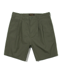 유니폼브릿지(UNIFORM BRIDGE) rip stop short pants khaki
