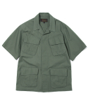 유니폼브릿지(uniformbridge) jungle fatigue short sleeve jacket lovat