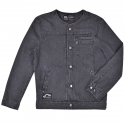 블랙맘바(blackmamba) Washed 510 Denim Jacket (Black)