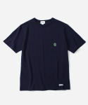 커버낫(COVERNAT) S/S C LOGO POCKET T-SHIRTS NAVY