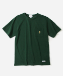 커버낫(COVERNAT) S/S C LOGO POCKET T-SHIRTS GREEN