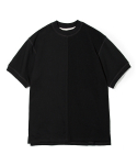 유니폼브릿지(uniformbridge) half sweat shirts black