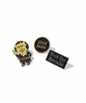 올드조(OLD JOE & CO) OLD JOE&CO / BILLBOARD PIN BADGE SET / BLACK