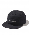올드조(OLD JOE & CO) OLD JOE&CO / BILLBOARD EMBROIDERY CAP(BLACK EYE SPECIALIST) / BLACK