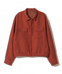 올드조(OLD JOE & CO) OLD JOE&CO / FADED NEP CLOTH SOUVENIR JACKET / FADED RED