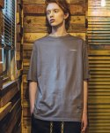 필루미네이트() UNISEX Smoking Printing Tee-GREY