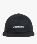 해브 어 굿 타임(haveagoodtime) Goodtime 6 Panel Cap - Black