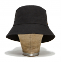 디아프바인(diafvine) DV. LOT472 WIDE BRIM BUCKET HAT -BLACK-