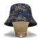 DV. LOT472 WIDE BRIM BUCKET HAT -PALM TREE-