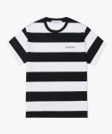 해브 어 굿 타임(haveagoodtime) Stripe S/S Tee - Black