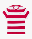 해브 어 굿 타임(haveagoodtime) Stripe S/S Tee - Red