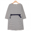 누이슈(NUISSUE) STRIPE EASY DRESS (IVORY)