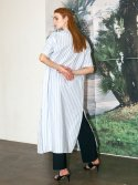 레티켓 스튜디오(letqstudio) Vita shirt dress SKYBLUE