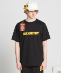 Real assistant T-shirts_Black