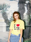 레티켓(L'ETIQUETTE) Anais t-shirt YELLOW