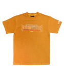 아임낫어휴먼비잉(I AM NOT A HUMAN BEING) [17SS] Arch Ver. Basic Logo T-Shirts - Orange