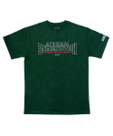 아임낫어휴먼비잉(I AM NOT A HUMAN BEING) [17SS] Arch Ver. Basic Logo T-Shirts - Wood Green