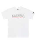 아임낫어휴먼비잉(I AM NOT A HUMAN BEING) [17SS] Arch Ver. Basic Logo T-Shirts - White