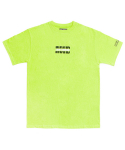 아임낫어휴먼비잉(I AM NOT A HUMAN BEING) [17SS] IMXHB Logo T-Shirts - Green Yellow