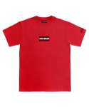 아임낫어휴먼비잉(I AM NOT A HUMAN BEING) [17SS] IMXHB Logo T-Shirts - Red