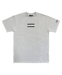 아임낫어휴먼비잉(I AM NOT A HUMAN BEING) [17SS] IMXHB Logo T-Shirts - Grey