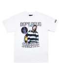 아임낫어휴먼비잉(iamnotahumanbeing) [17SS] My Home Boy T-Shirts (DOPE DOUG) - White