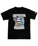 아임낫어휴먼비잉(iamnotahumanbeing) [17SS] My Home Boy T-Shirts (DOPE DOUG) - Black