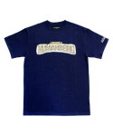 아임낫어휴먼비잉(I AM NOT A HUMAN BEING) [17SS] Bling Logo T-Shirts - Navy