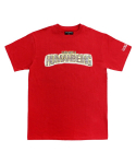 아임낫어휴먼비잉(I AM NOT A HUMAN BEING) [17SS] Bling Logo T-Shirts - Red