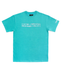 아임낫어휴먼비잉(I AM NOT A HUMAN BEING) [17SS] Retro Reflective Basic Logo T-Shirts - Emerald