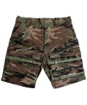 아임낫어휴먼비잉(I AM NOT A HUMAN BEING) [17SS] Basic Logo Front Pocket Shorts - Camo
