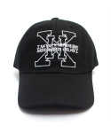 아임낫어휴먼비잉(I AM NOT A HUMAN BEING) [17SS] XHB Logo Ball Cap - Black