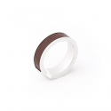 마실러(MARSILER) PELE Ring Dark Brown