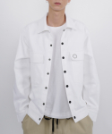 로우 투 로우(RAW TO RAW) zen cotton twill jacket(white)
