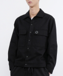 로우 투 로우(RAW TO RAW) zen cotton twill jacket(black)