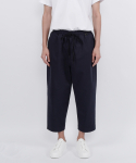 nomad cotton string pants(navy)