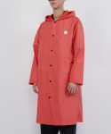 로우 투 로우(RAW TO RAW) monk hoodie raincoat(orange)
