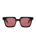 애쉬버리(ASHBURY) ACE MATTE BLACK WITH ROSE LENS