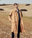 얀스토어(YAN STORE) SMOOTH DOUBLE COAT_CAMEL