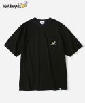 COVERNAT X MARK GONZALES S/S LOGO POCKET T-SHIRTS BLACK