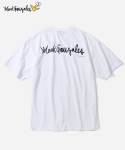 커버낫(COVERNAT) COVERNAT X MARK GONZALES S/S LOGO POCKET T-SHIRTS WHITE