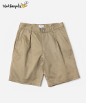 커버낫(COVERNAT) COVERNAT X MARK GONZALES CHINO SHORTS BEIGE
